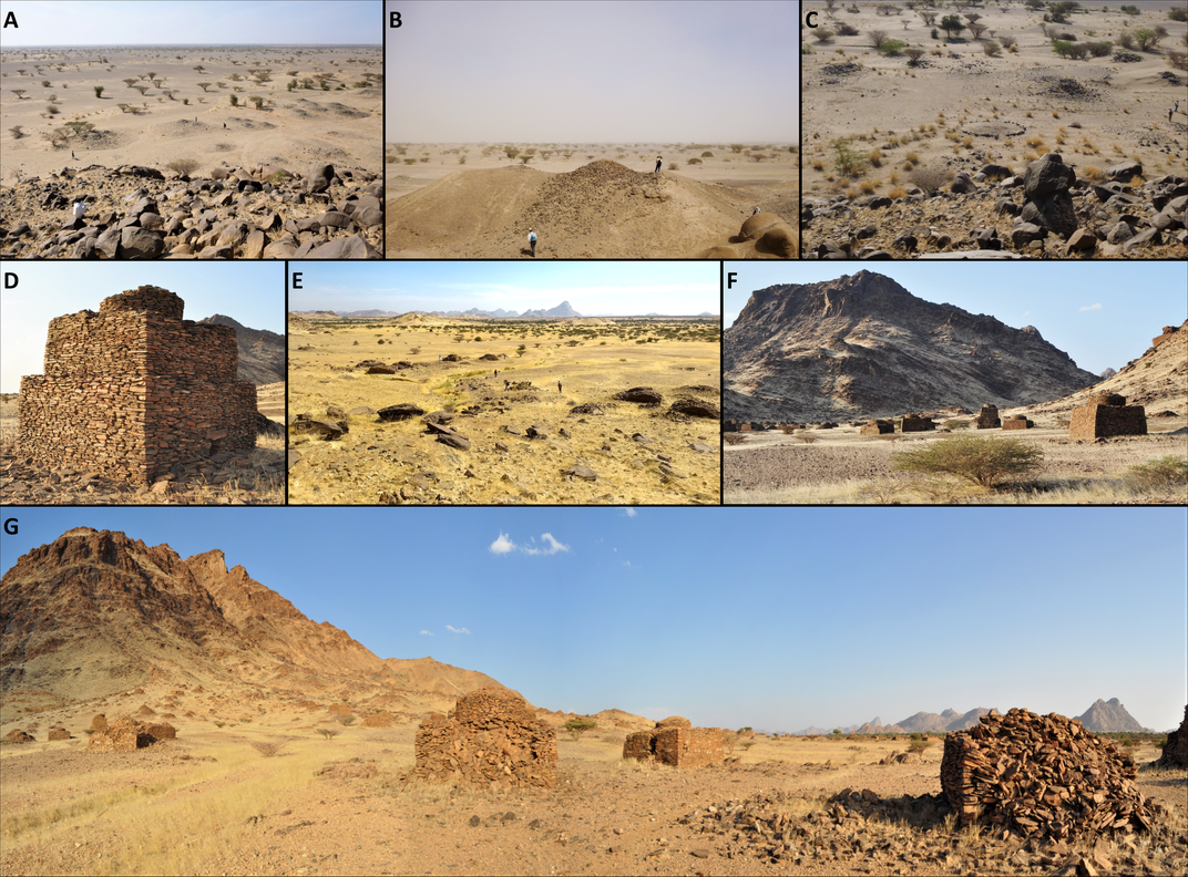 These Medieval Islamic Tombs in Sudan Were Laid Out Like Galaxies