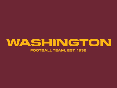 """Effective immediately, the franchise will be known as the """"Washington Football Team."""""""