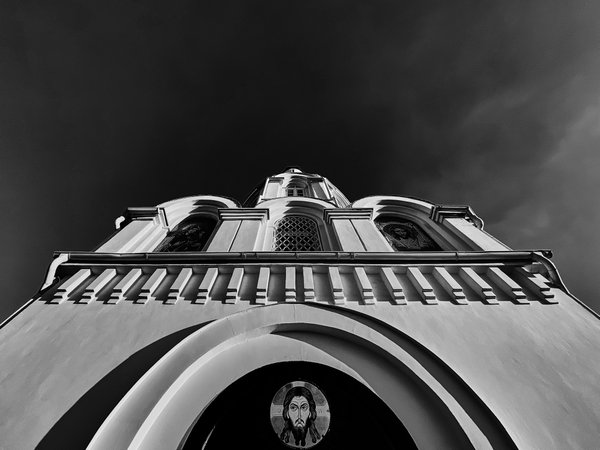 Darkness over the church. thumbnail
