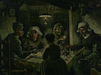 Vincent van Gogh, The Potato Eaters,April–May 1885