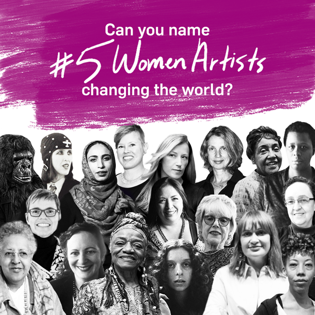 #5WomenArtists Campaign Tackles Gender Inequity for the Fifth Year in a Row