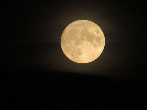 Moon over North Dakota thumbnail