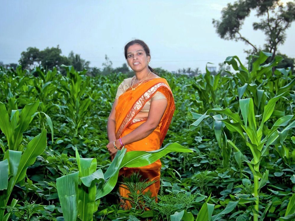 manasi in her farm.JPG