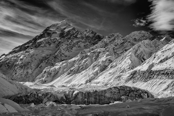 Mount Cook and Hooker Glacier thumbnail