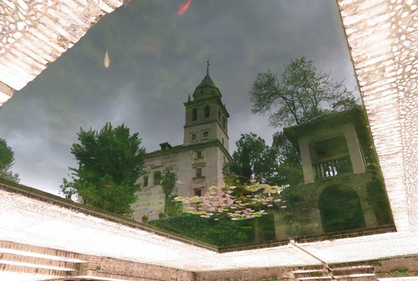 Goldfishes in the sky before thunderstorm thumbnail