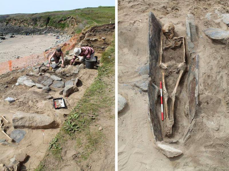 Sand Dunes in Wales Preserved This Medieval Cemetery for Centuries