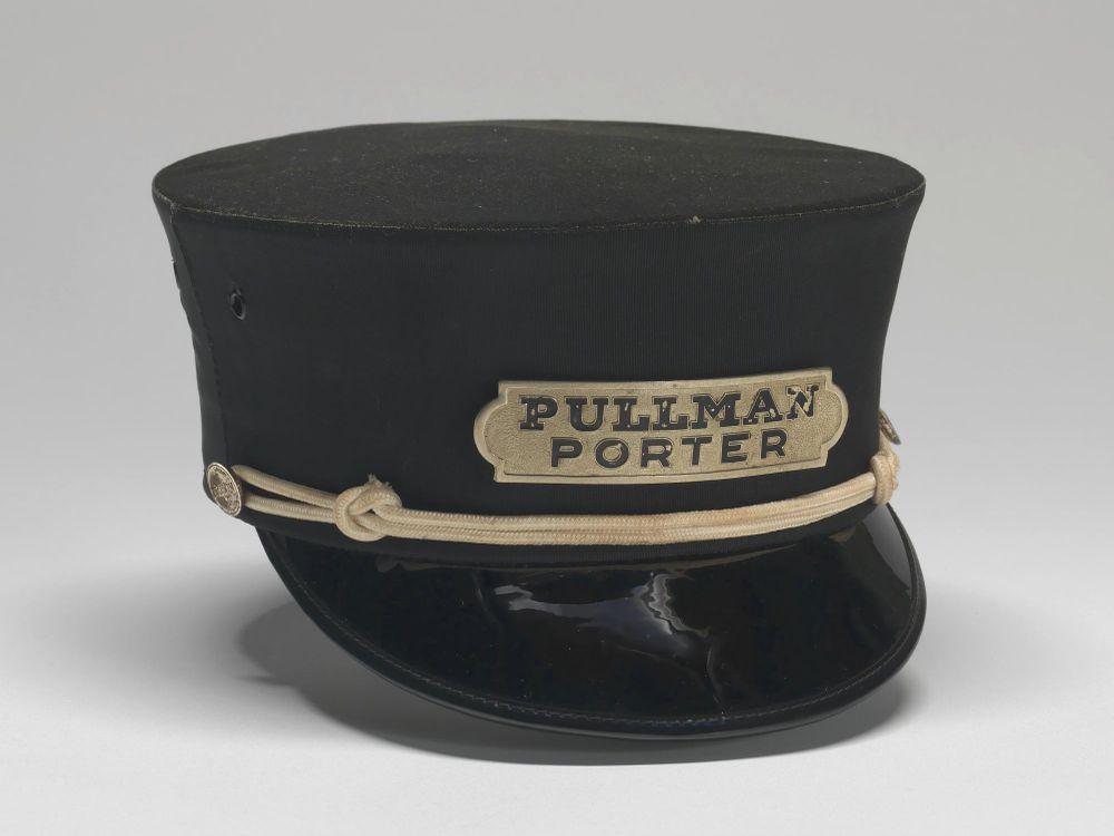Cap worn by Pullman Porter Philip Henry Logan