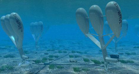 underwater system generates