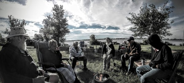 Comradery by the Campfire - Walnut Valley Festival 2016 - Winfield, Kansas thumbnail