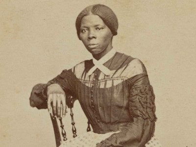 """When the Carla Hayden, the Librarian of Congress, first saw the new image of Harriet Tubman (above, detail), she said: """"She's young!"""""""