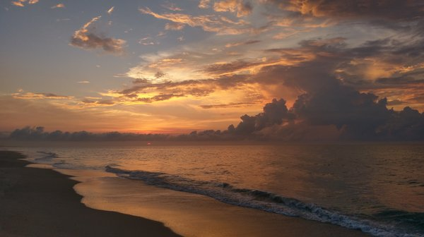 Sunrise at Surf City, NC thumbnail