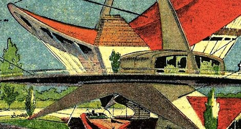 The solar powered house of the future from 1959