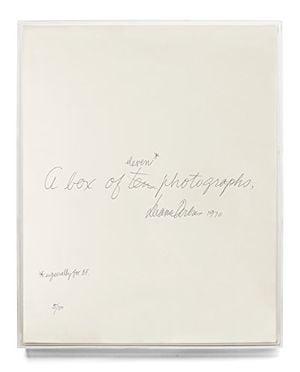 Preview thumbnail for 'Diane Arbus: A box of ten photographs
