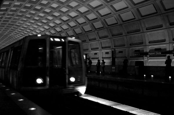 Waiting for the metro. thumbnail