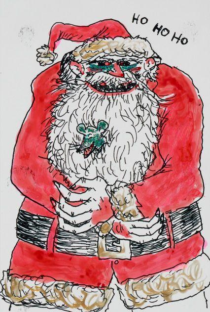 Beastly Santa