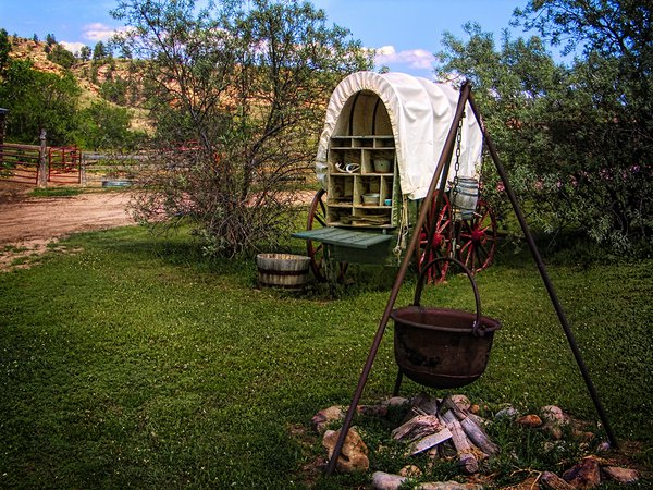 A Chuckwagon Camp Site thumbnail