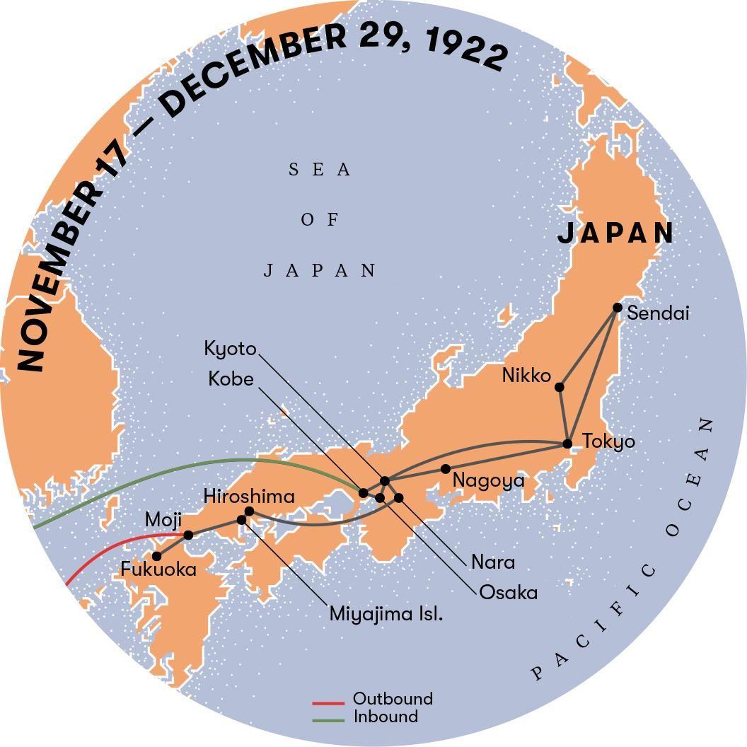 When Albert Einstein Visited Japan