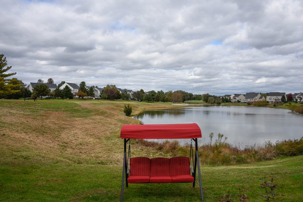 Red Swing and Pond thumbnail
