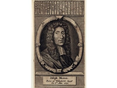 Joseph Moxon, author of 'Mathematicks Made Easie,' was born on this day in 1627.