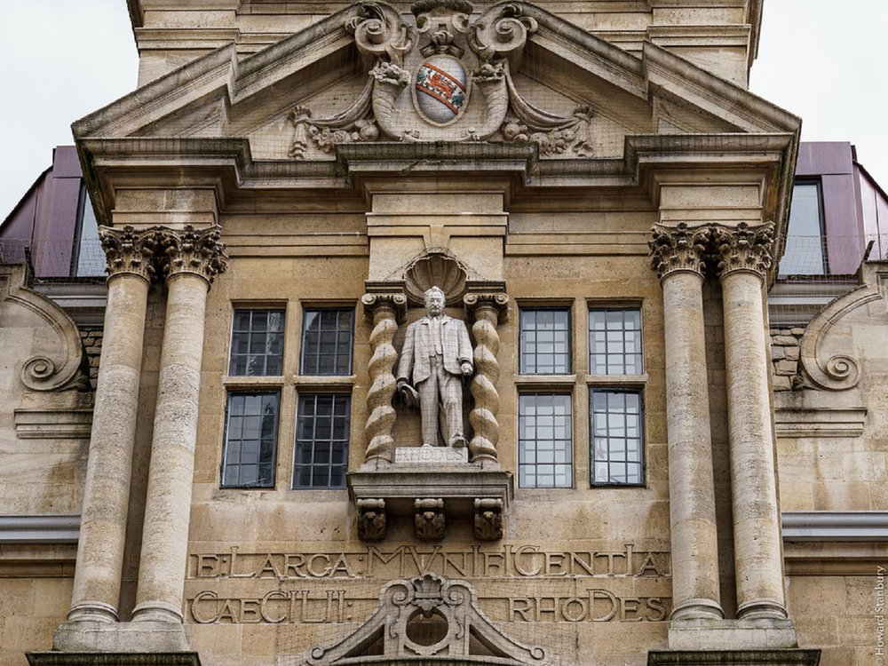 Why a New Plaque Next to Oxford's Cecil Rhodes Statue Is So Controversial | Smart News