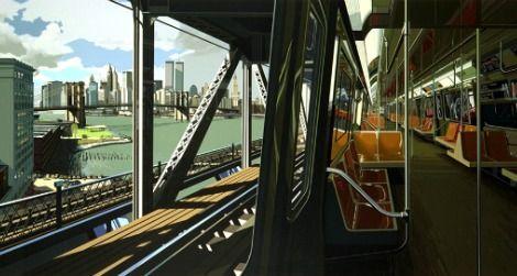 D Train, by Richard Estes