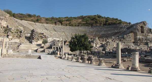 The Greco-Roman Theater at Ephesus, Turkey thumbnail