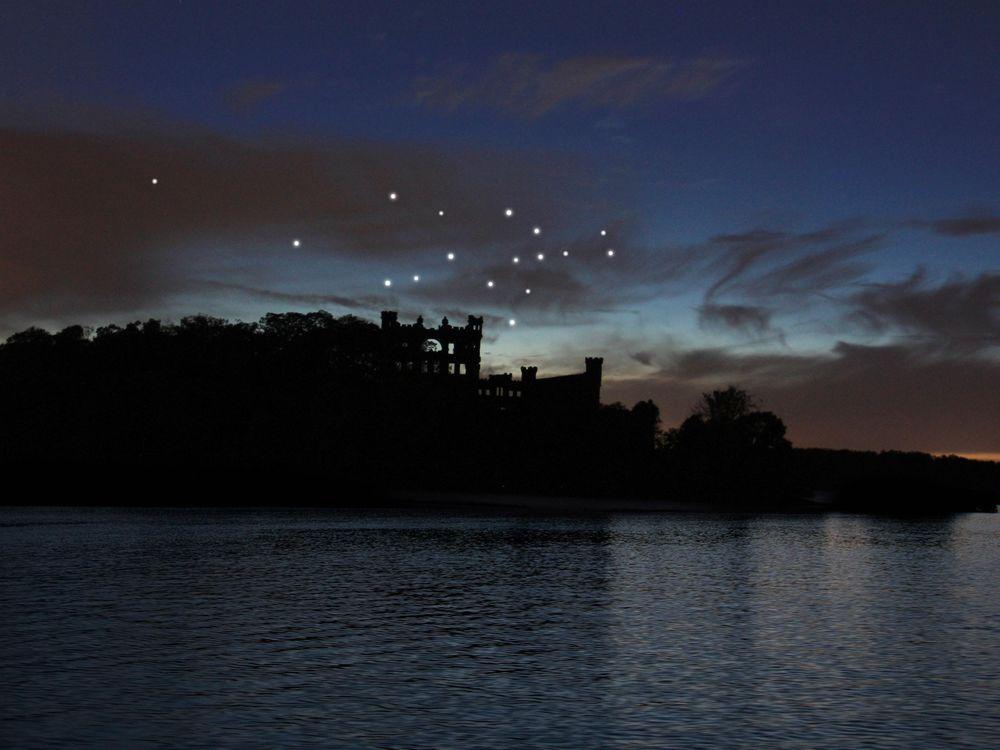 rendering of constellation