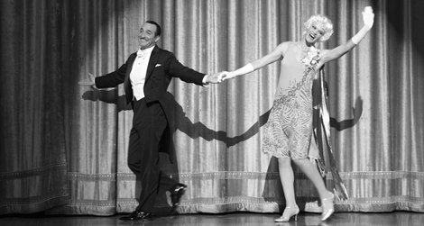Jean Dujardin and Missi Pyle in Michel Hazanavicius's The Artist