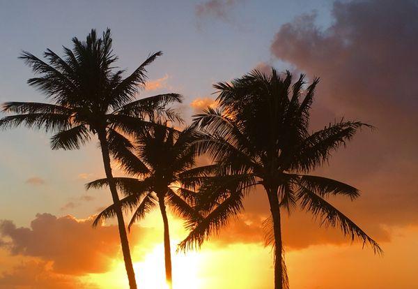 Sunset at Poipu Beach thumbnail