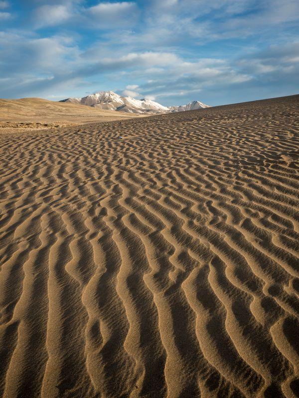 Winnemucca sand dunes, Nevada thumbnail