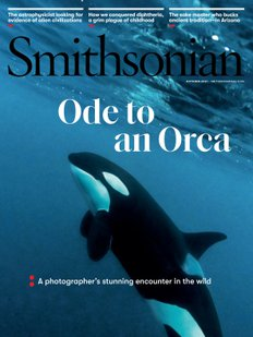 Smithsonian magazine October 2021 issue cover