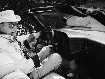 Fear and Loathing in Las Vegas: A Savage Journey to the Heart of the American Dream by Hunter S. Thompson is considered by many to be the quintessential drug-induced book of the 1970s.