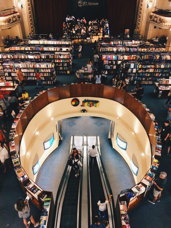 El Ateneo Grand Splendid, a bookstore in Buenos Aires, Argentina thumbnail