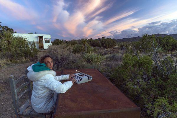 A writer's retreat in the desert thumbnail