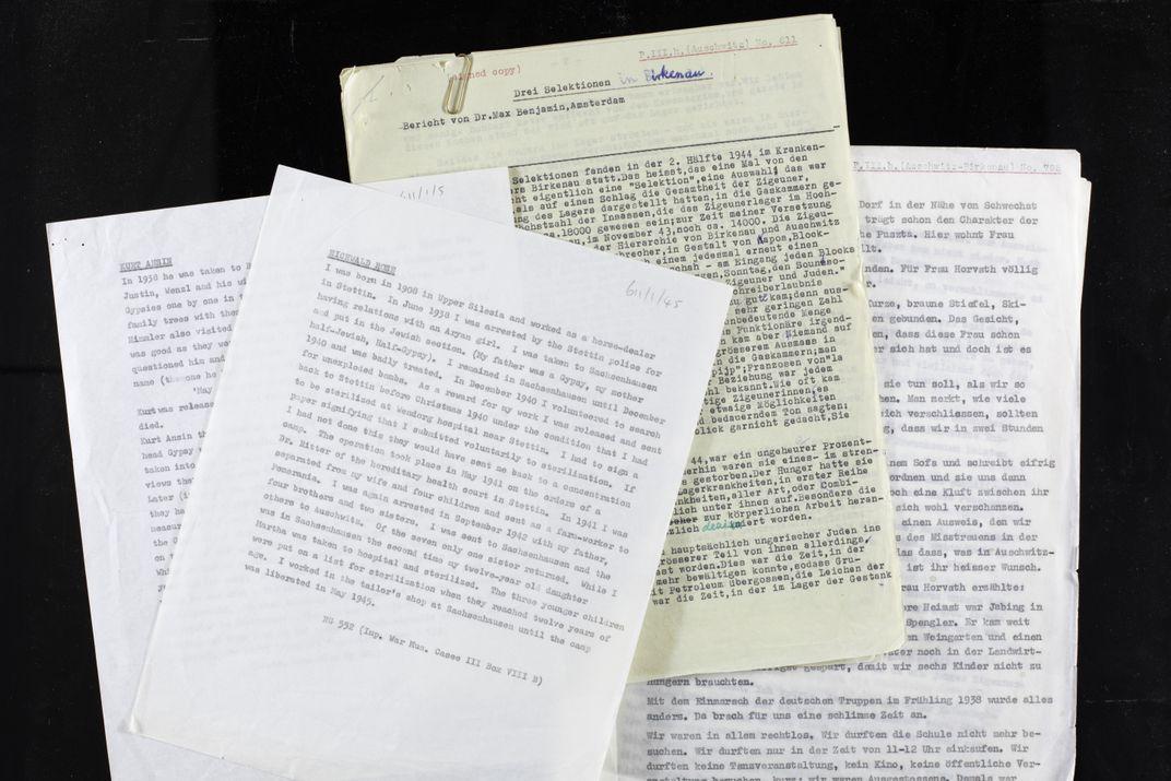 London Library Spotlights Nazi Persecution of the Roma and Sinti