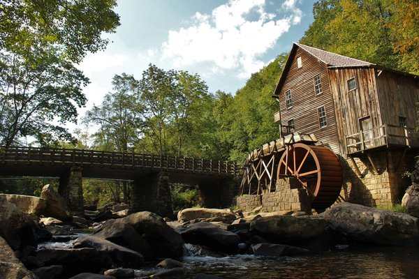 Old Mill in West Virginia thumbnail