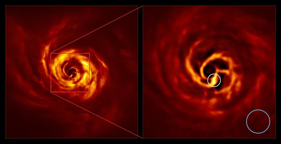 This Very Large Telescope Snapped an Exoplanet's Baby Photos