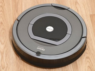 This iRobot 780 was one of the early Roomba models that randomly moved about the room. But the company's latest models (900 series) uses cameras and software to collect data and map out your home.
