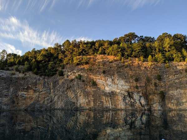 The Water and the Mountain - Philadelphia Quarry, TN, USA thumbnail