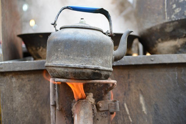 Coal-fired stoves are a major source of black carbon.