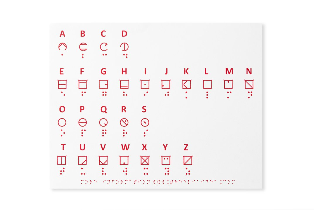 Could This New Tactile Font Help People Who Lose Their Sight Late In Life?