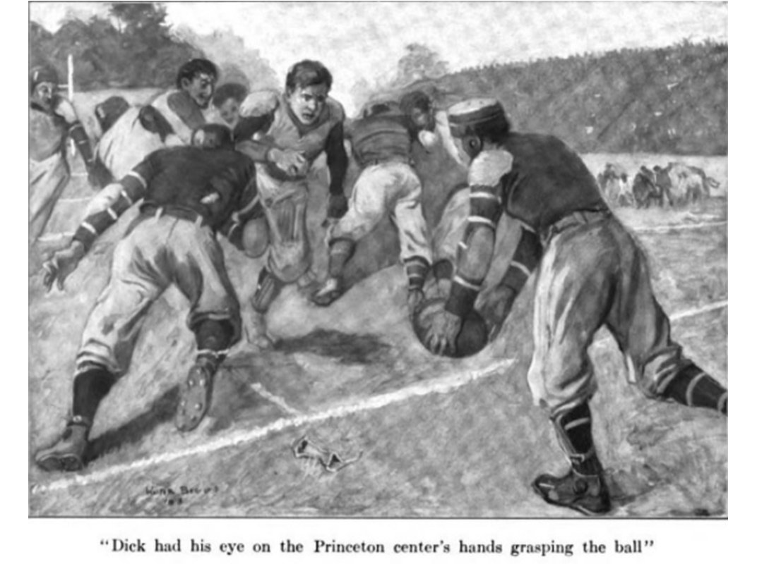 Turn-of-the-Century Kid's Books Taught Wealthy, White Boys the Virtues of Playing Football