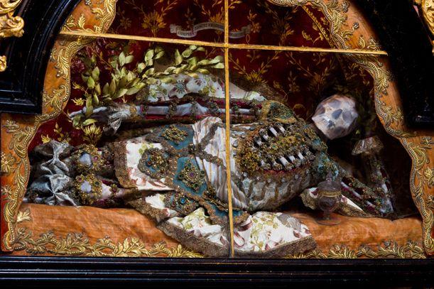 Meet the Fantastically Bejeweled Skeletons of Catholicism's Forgotten Martyrs