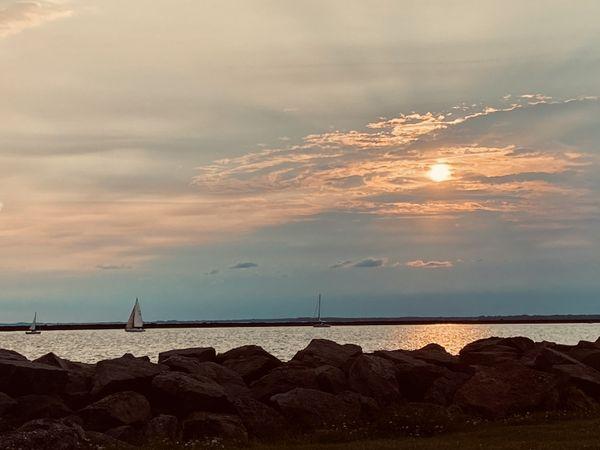 Ships at Sunset thumbnail