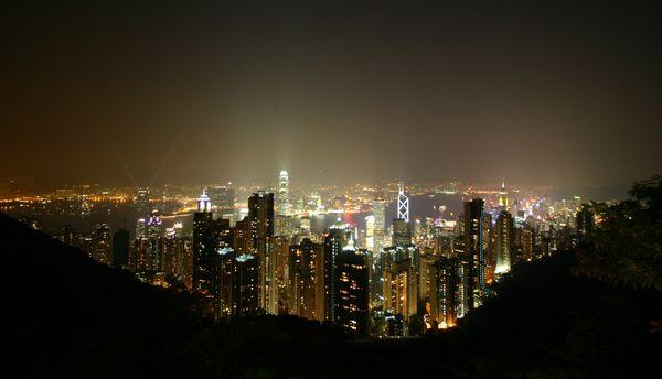 Hong Kong by night thumbnail