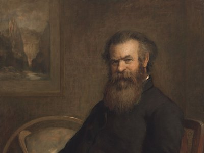 John Wesley Powell by Edmund Clarence Messer, 1889