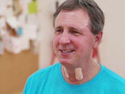 The sensor can be stuck on the skin like a Band-Aid.