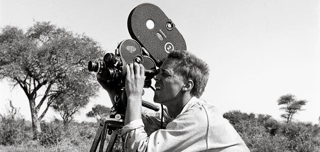 John Marshall filming