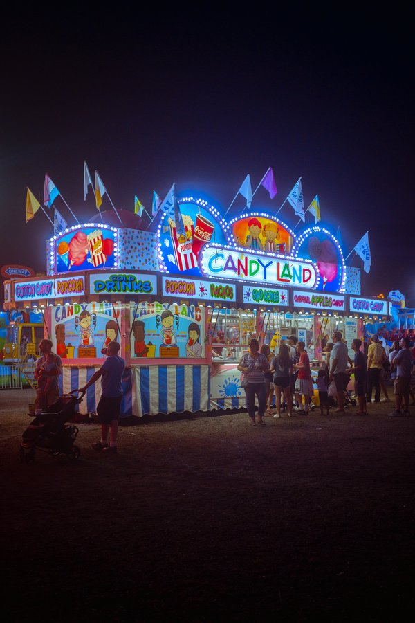 A summer night at the county fair thumbnail