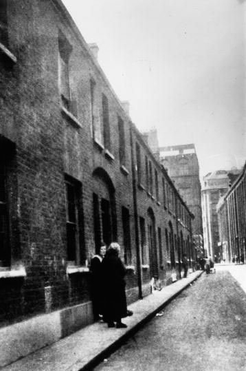 Buck's Row, site of the murder of Mary Ann Nichols